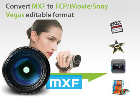 Brorsoft MXF Converter(Mac&Wins) - the best solution for MXF importing & editing issue