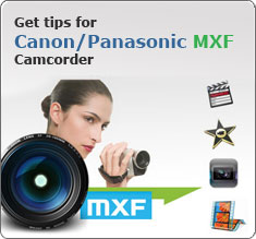 How to Import Canon MXF recordings to MPEG-2 for Sony Vegas editing ?