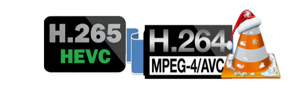 Converting from H 265 (HEVC) to H 264 with VLC