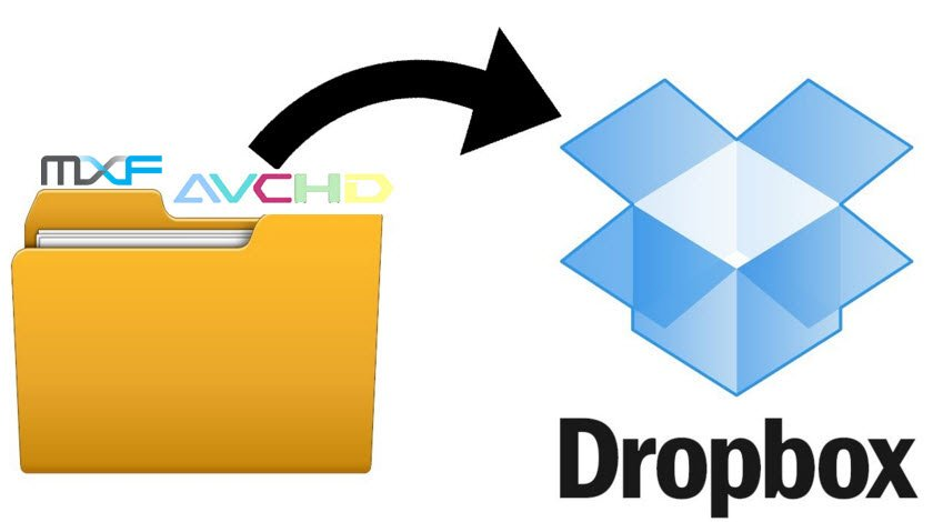 How to Upload MTS/MXF Recordings to Dropbox