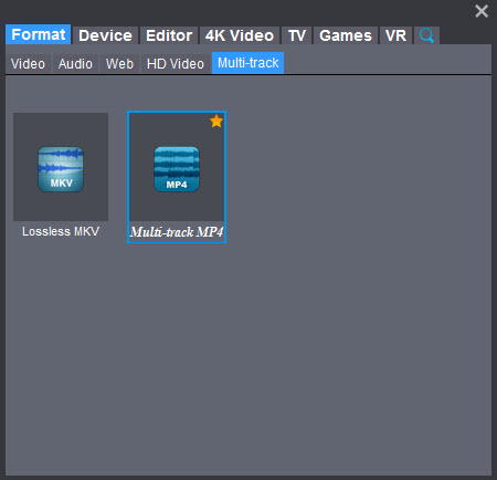 How to Convert MKV to Multi-track MP4 on Windows/Mac – MKV