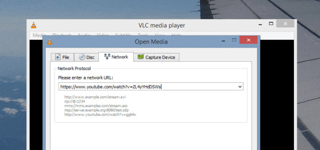 download youtube videos in vlc format